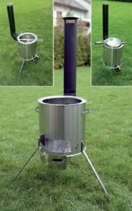 Gulaschkanone Feldküche – Gulaschkessel aus Edelstahl